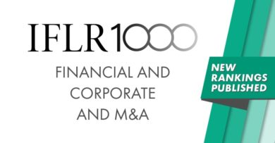 IFLR 1000: AVS Legal among the best law firms in the field of finance and corporate law